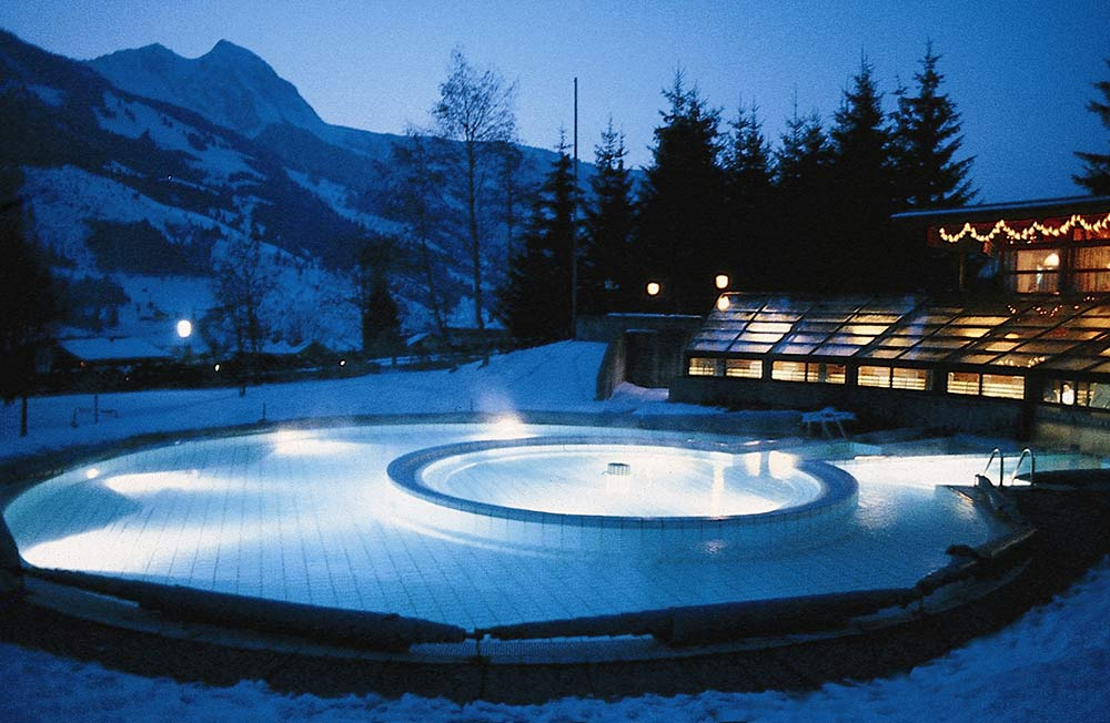 Solarbad Dorfgastein Winter
