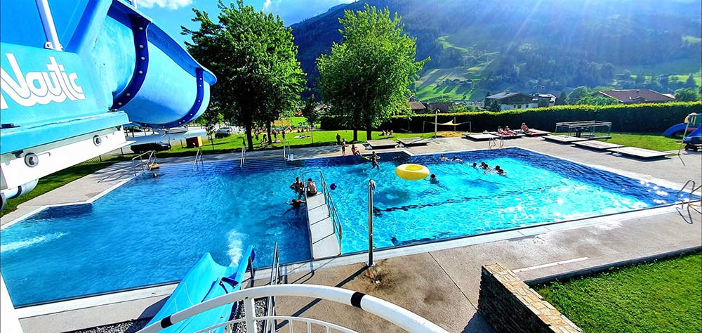 Sportbecken Solarbad Dorfgastein